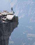 Top of Half Dome in Yosemite
